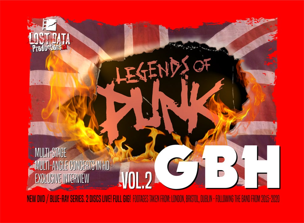 Image of G.B.H. - Legends of Punk Vol.2 (DVD / BluRay)