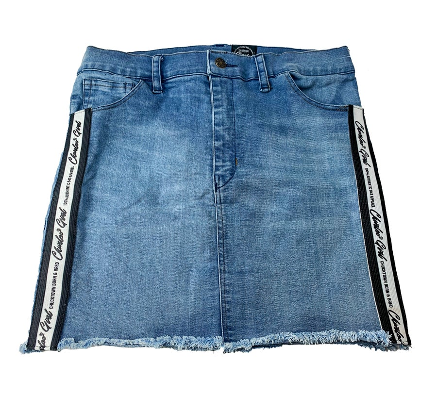 Image of The Charleo Girl Denim Skirt