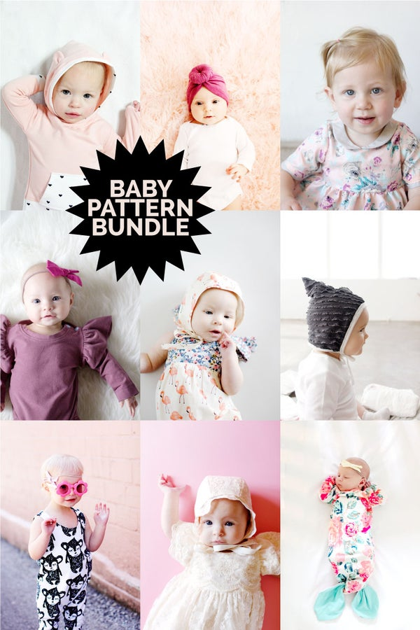 Image of BABY BUNDLE + BONUS MATERNITY - 13 PDF PATTERNS