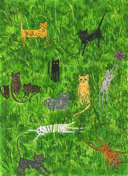 Image of In the weeds. Limited edition print.