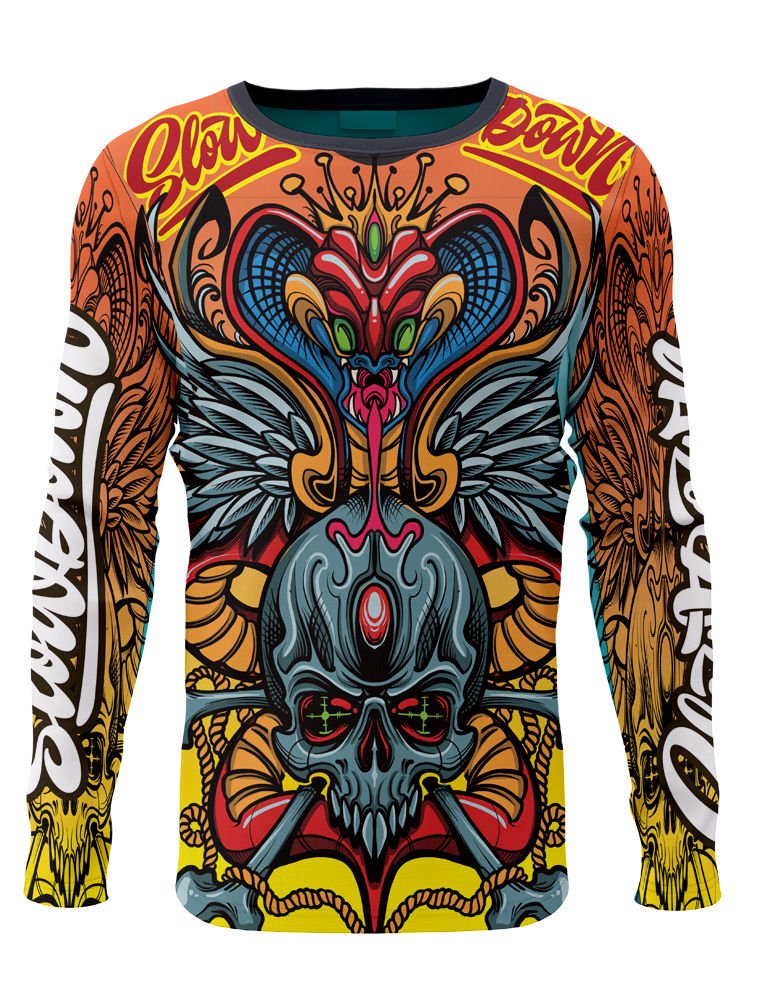 Slowdown  Cobra Skull Jersey