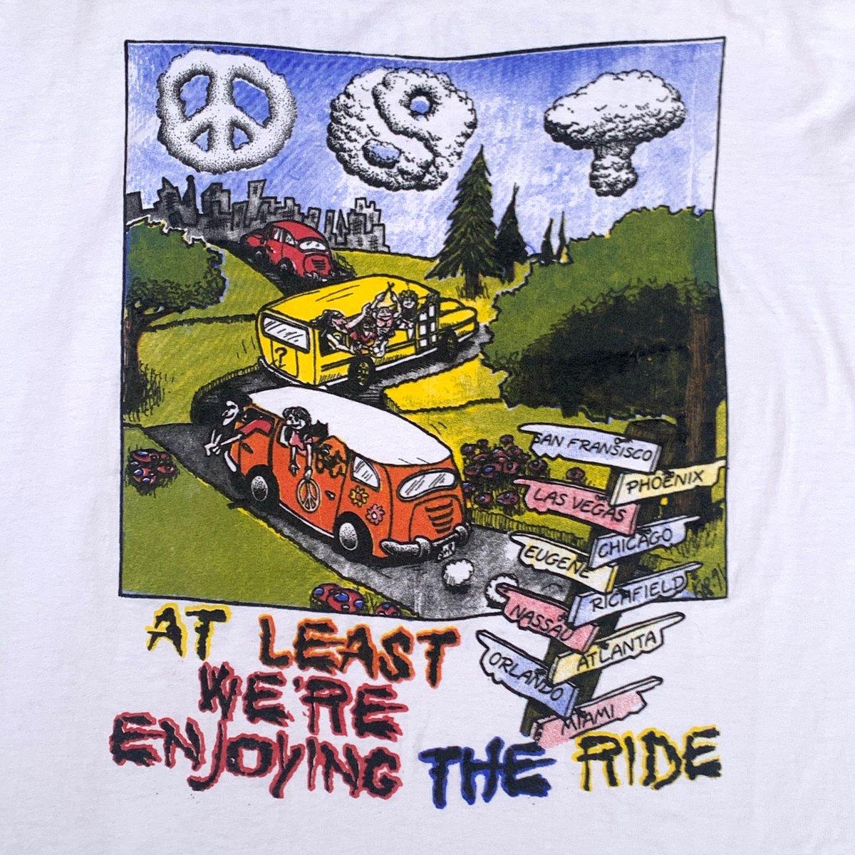 Original Vintage Grateful Dead Spring Tour 1995 Long Sleeve Tee!! Fits XXL!