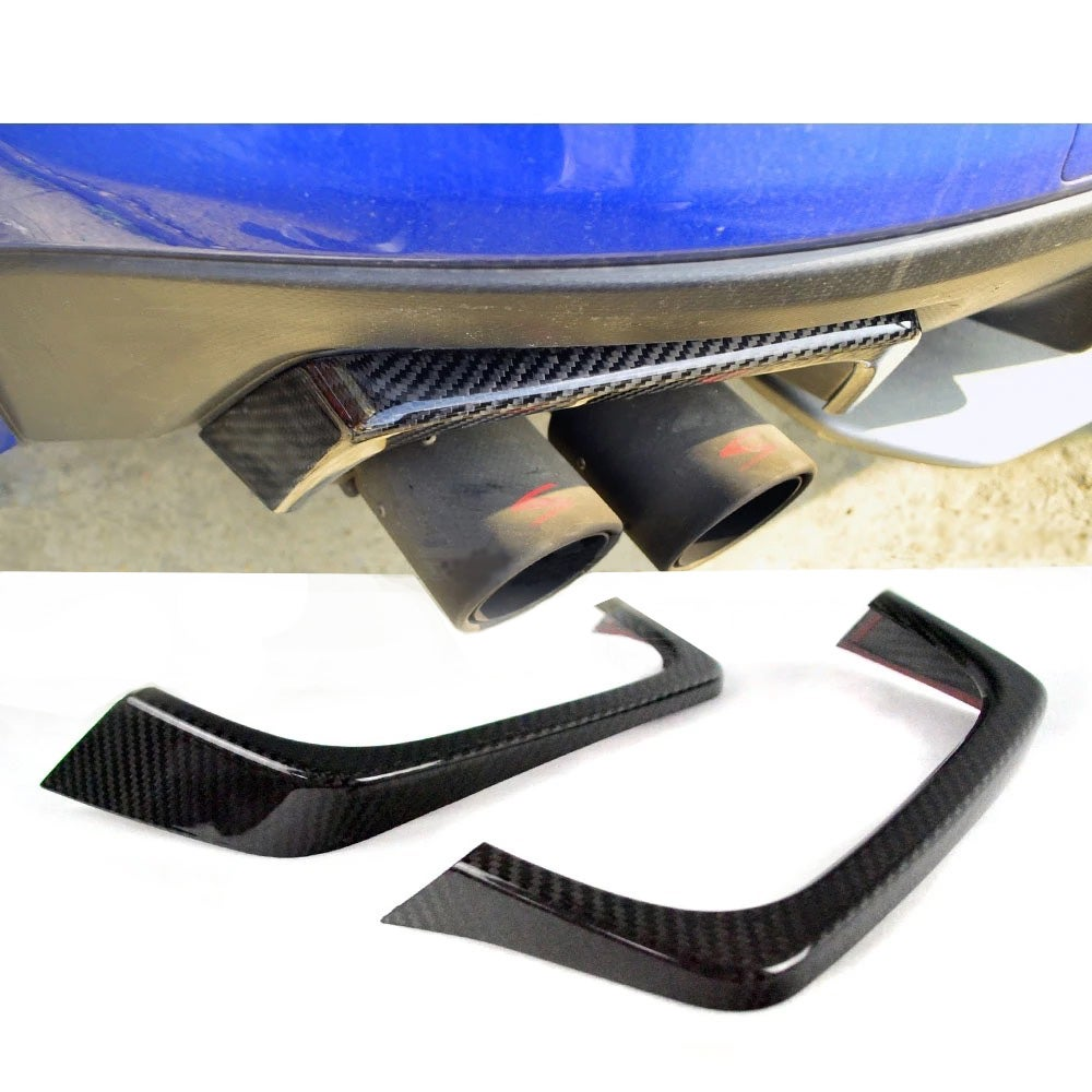 Image of Carbon Fiber Exhaust Covers