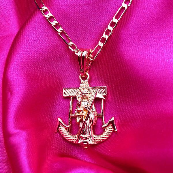 """Image of Santa Muerte """"Flaca"""" Necklace"""