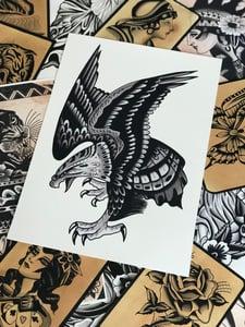 Image of A3 Eagle Print