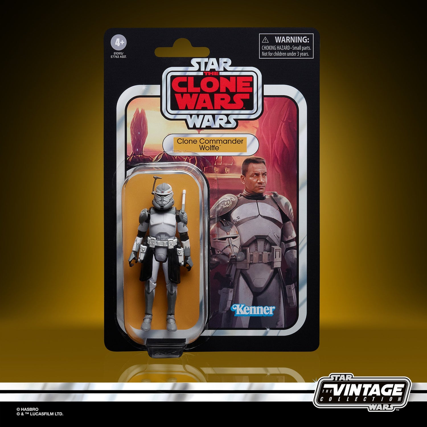 Image of Star Wars The Vintage Collection Clone Commander Wolfe