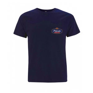 Image of PRIVATE RACING tshirt navy