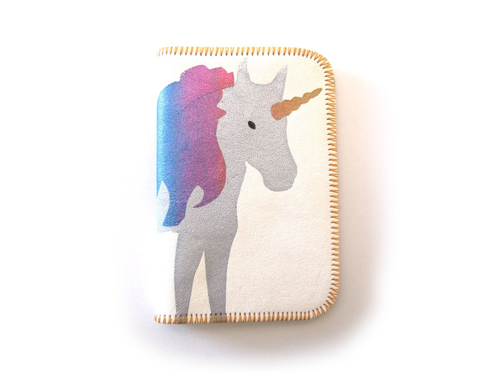Image of Unicorn Card Holder