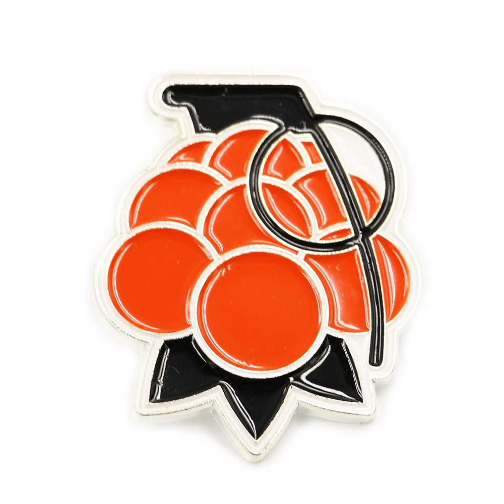 Image of CLOUDBERRY GRENADE PIN