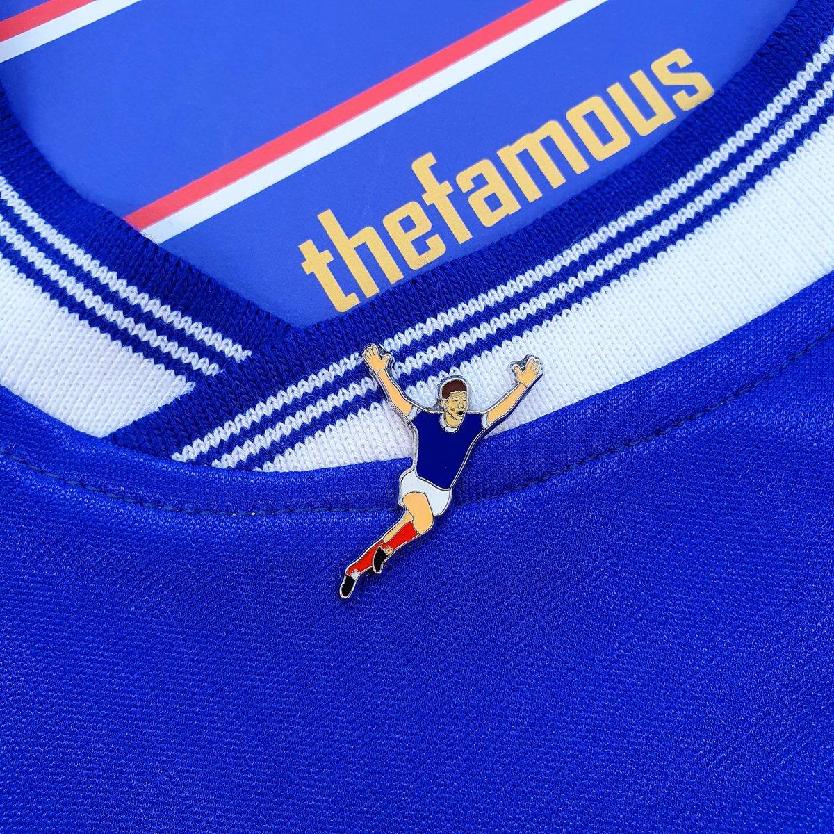 Image of Blue, White, Dynamite Pin