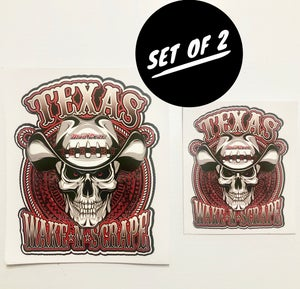 Image of Cowboy Decal: 2 Sizes