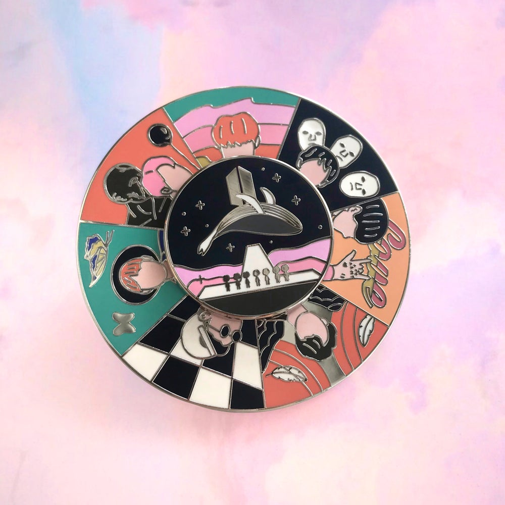 Image of BTS ERAS - Spinning Pin