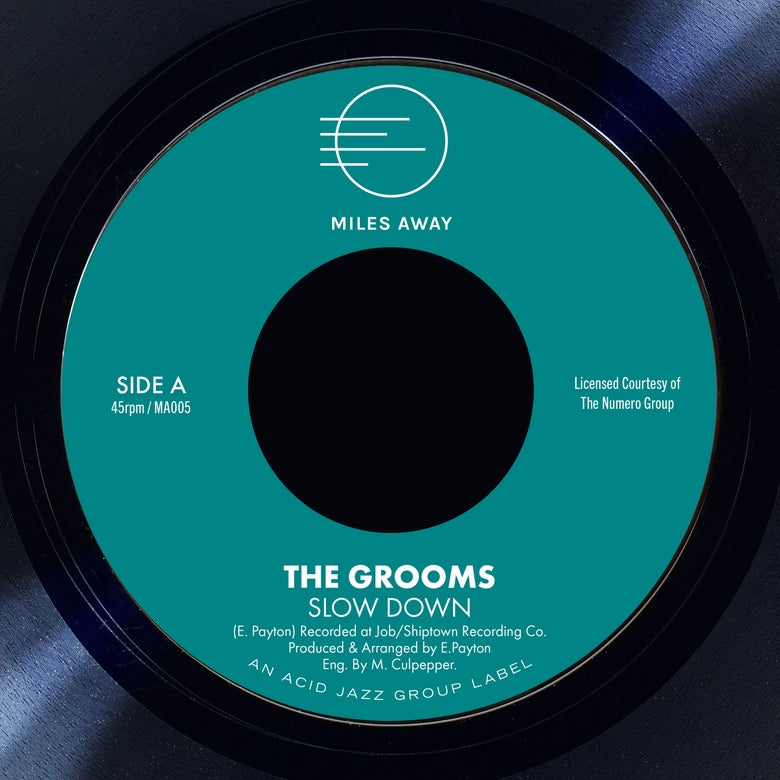 "Image of The Grooms - Slow Down / I Deserve A Little Bit More 7"" Pre-Order"