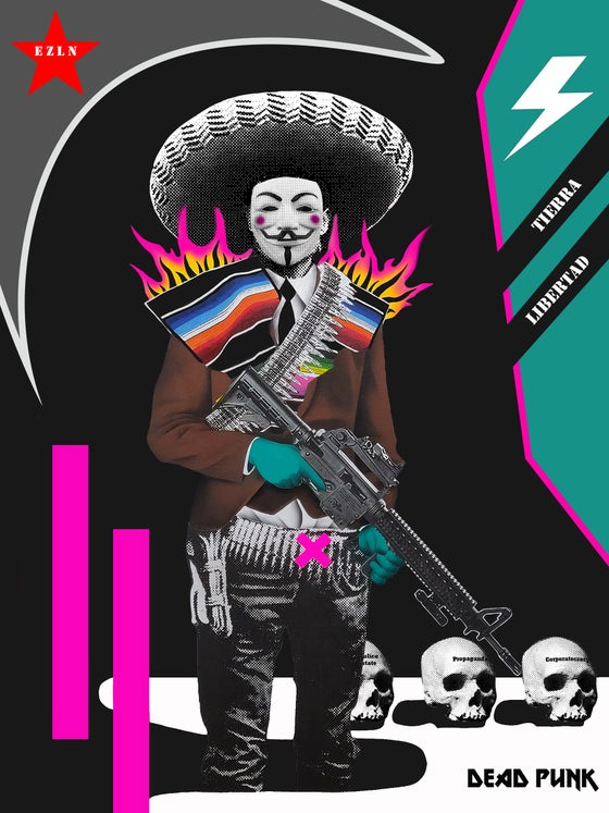 Image of The Zapatista Vendetta limited edition print
