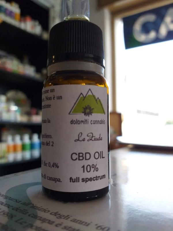 Image of Olio estratto di CBD 10%
