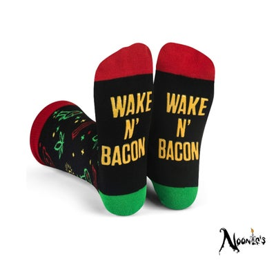 Image of Wake and Bake-con  socks