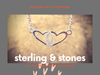 OHFO Signature Necklace - Sterling Silver