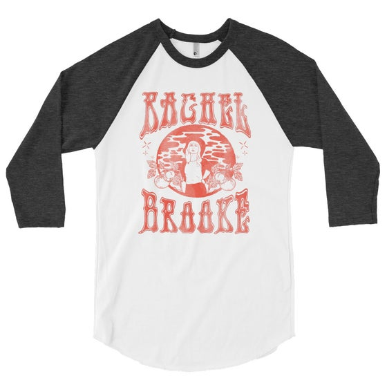 Image of Rachel Brooke Faded Raglan Tee