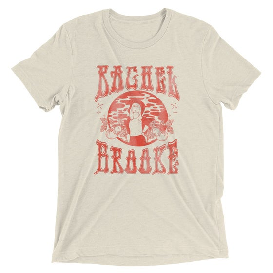 Image of Unisex Tri-Blend T-Shirt- Faded Rachel Brooke