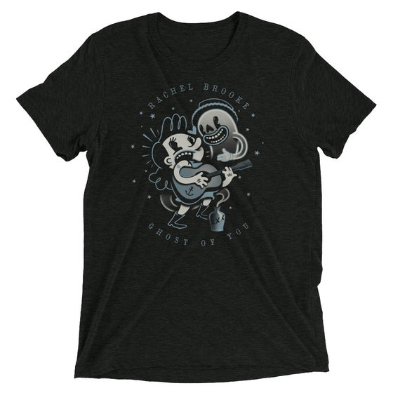 "Image of ""Ghost Of You"" Tri-Blend Short Sleeve t-shirt"