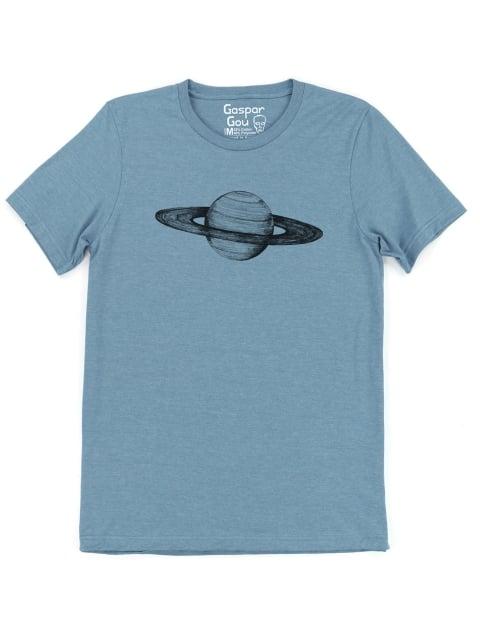 Image of Saturn Slate Charlie Tee
