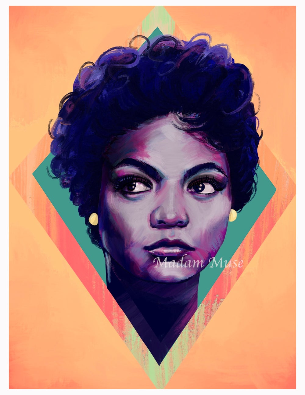 "Image of ""Eartha Kitt"" Limited Edition Prints"