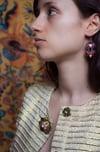 Miracle Earrings - Goldress - Petites boucles brodées
