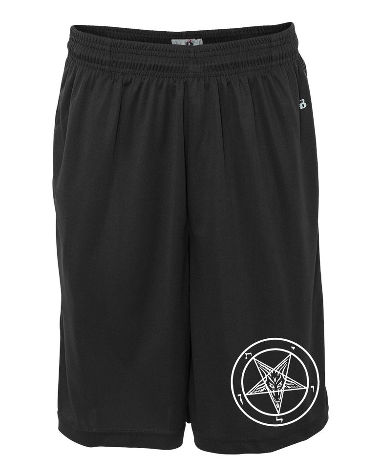 Image of BAPHOMET SHORTS (IN STOCK)