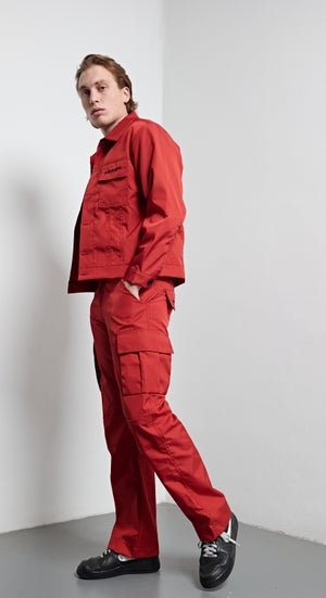 Image of RAINPROOF PANTS - RED