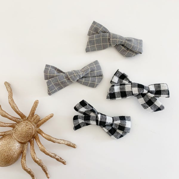 Image of Plaid and Gingham Bows