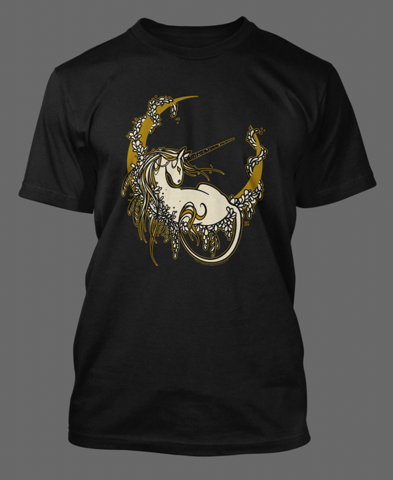 Image of Unicorn Moon - Tshirt Preorder