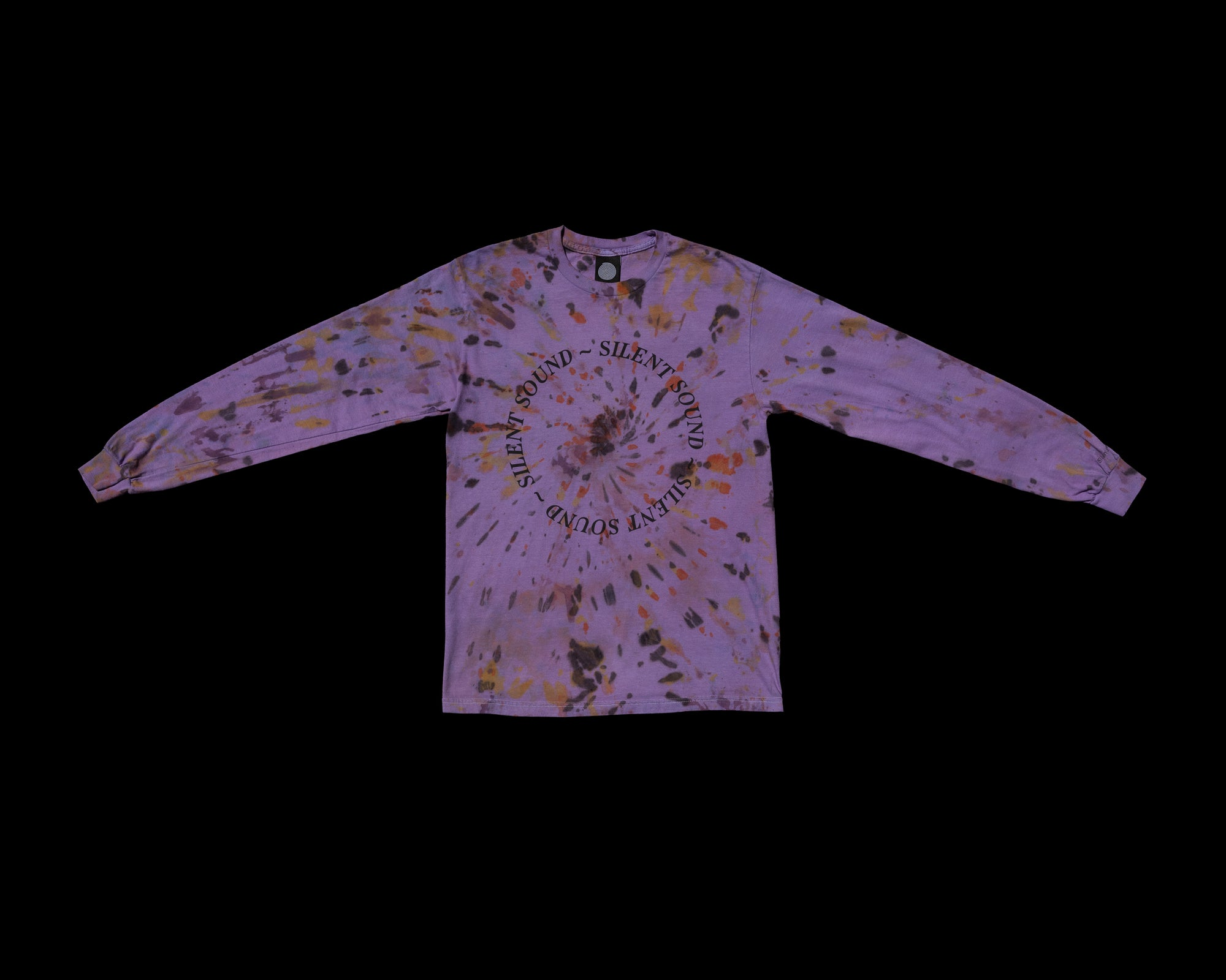 Image of L/S Circle Tee - Hand Dye - Medium #1