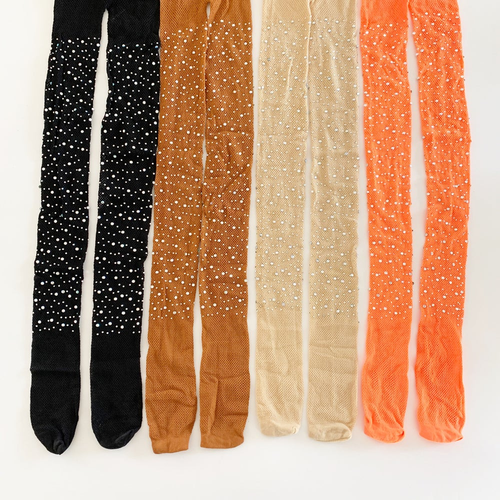 Image of Rhinestone Magic Tights - Fall