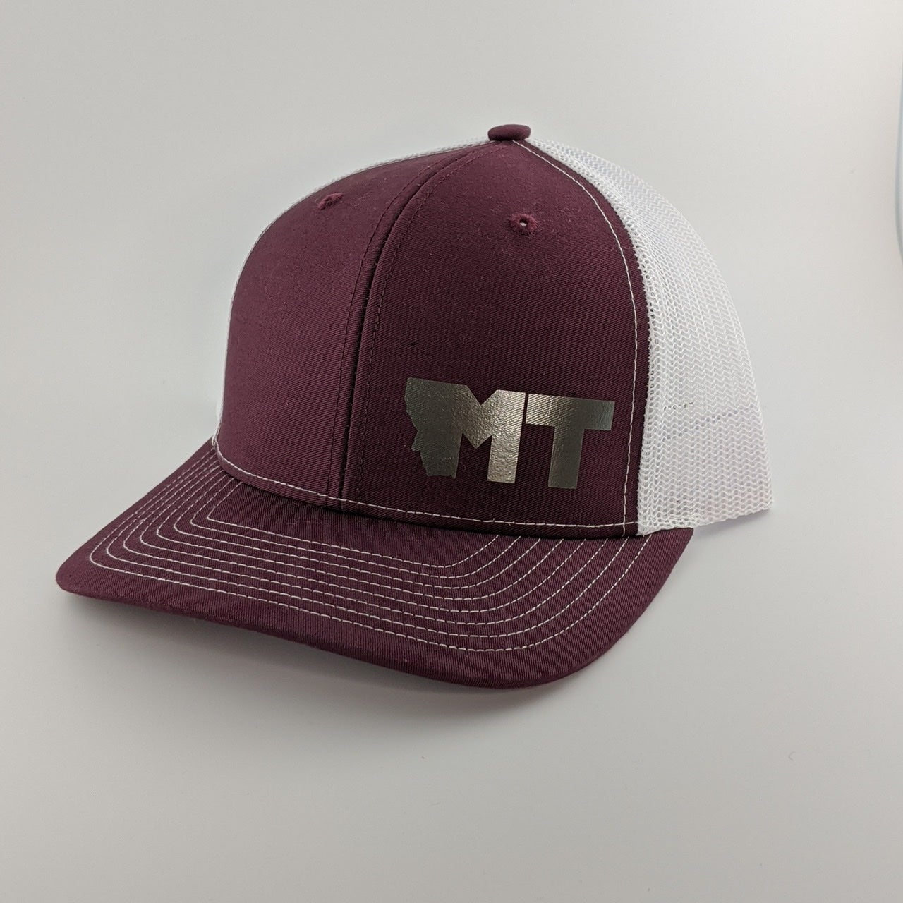 Image of Maroon and Silver
