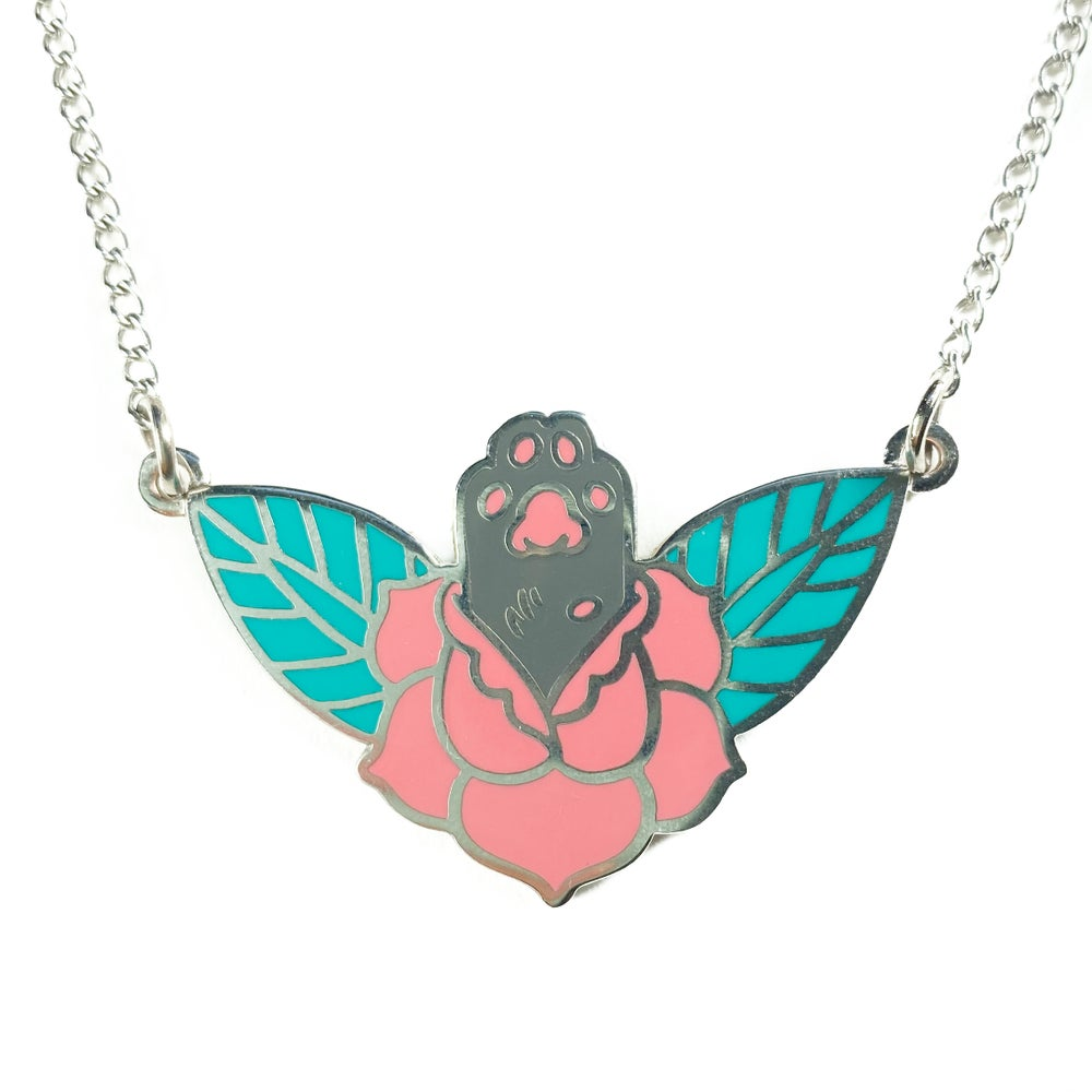 Image of NEW! Lucky Paw Necklace