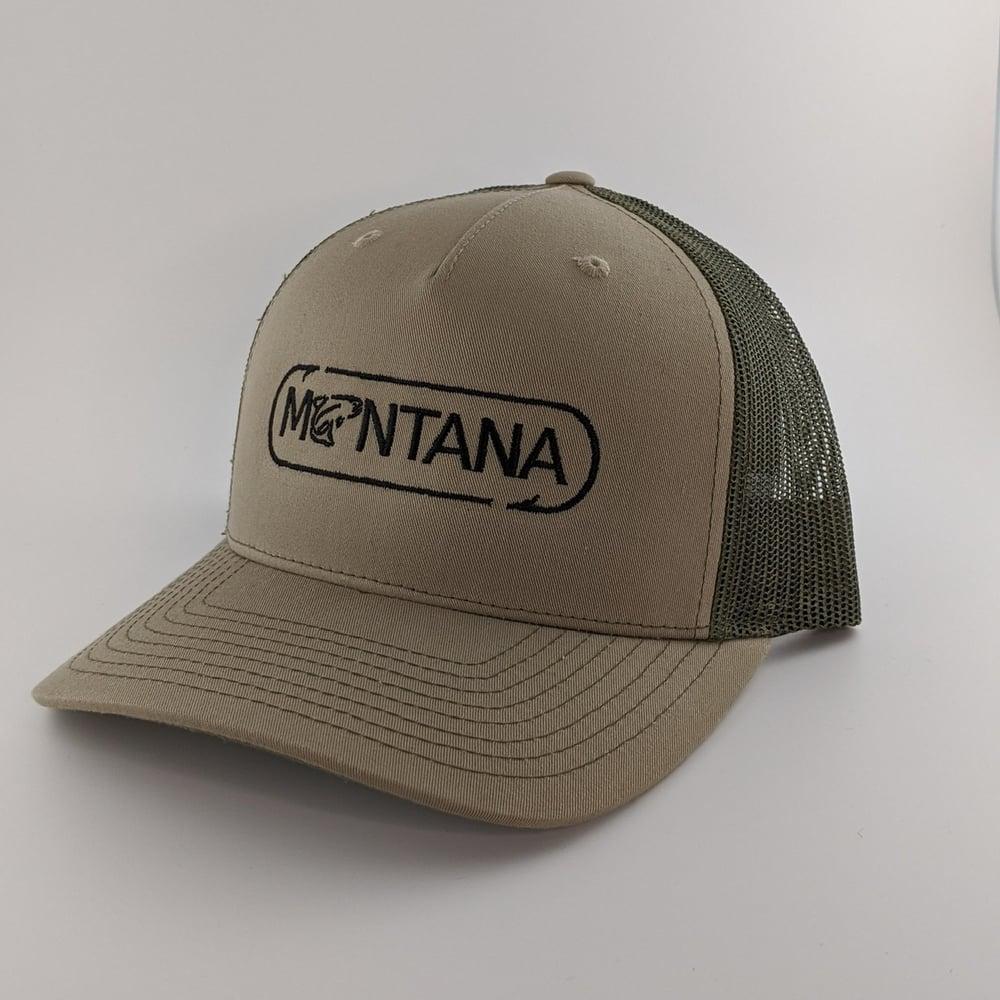 Image of Montana Angler Hat - Khaki / Loden Green