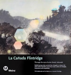 Image of LA CAÑADA FLINTRIDGE L.A. METRO POSTER