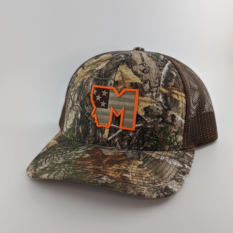 Image of Montana Patriot - Camo and Brown