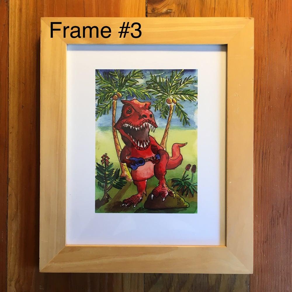 """Image of """"Apex Strummer"""" Framed 6x8 Print"""