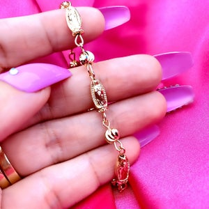 "Image of Virgencita ""3 Times A Lady"" Bracelet"