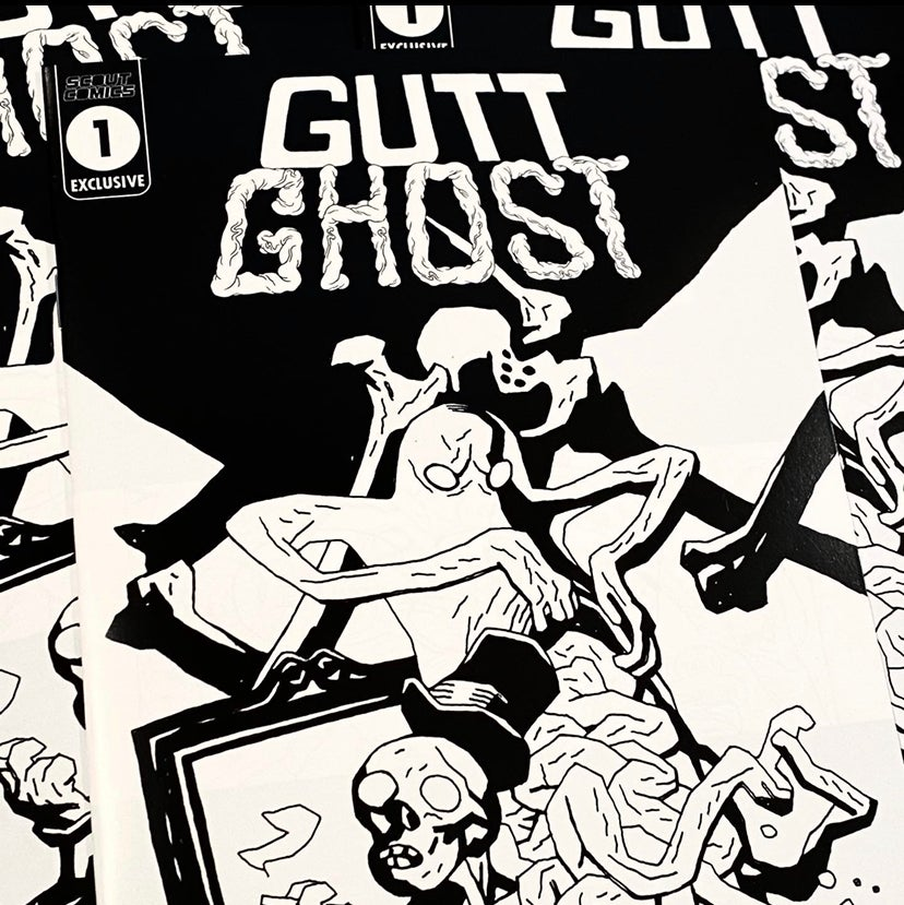 Image of Gutt Ghost: Trouble w/ the Sawbucks INKS ONLY