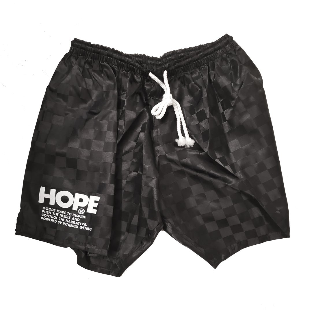 Image of Checkerd Hope Board/trainer short