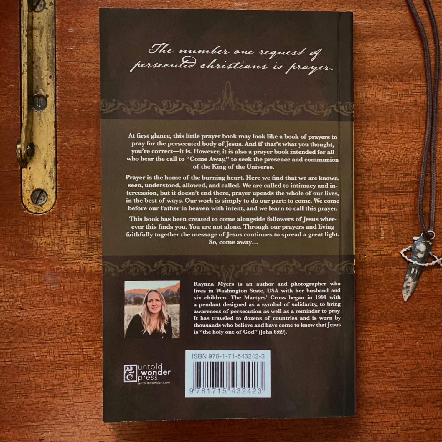 Image of PRE-ORDER NOW—Beloved Prayers: A Martyrs' Cross Prayer Book for the Persecuted
