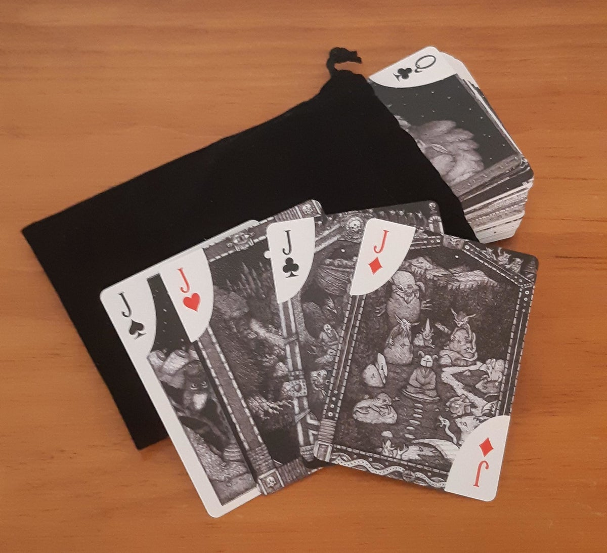 Image of Dale Forward Playing Cards