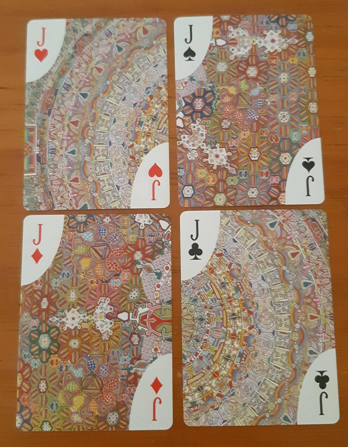 Image of Journey to the Other Side Playing Cards