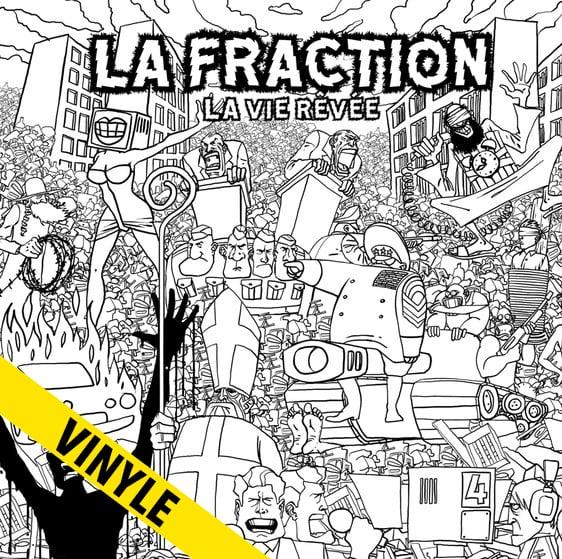 """LA FRACTION """"La Vie Rêvée"""" LP"""