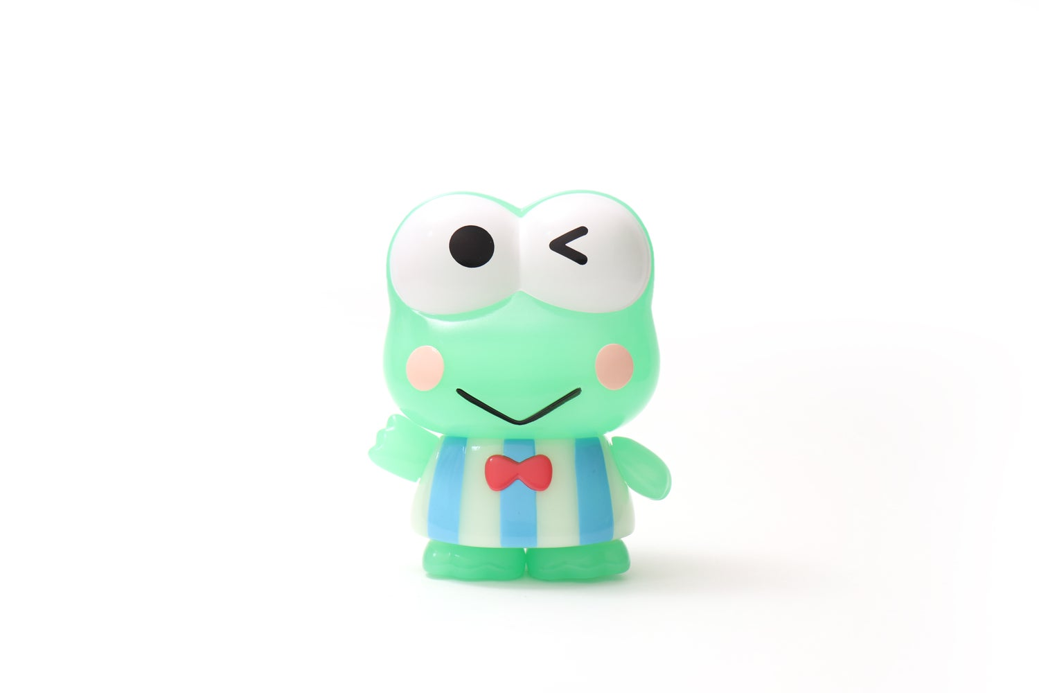 Image of KEROPPI (GLOW EDITION) SOFT VINYL SERIES SANRIO PROJECT