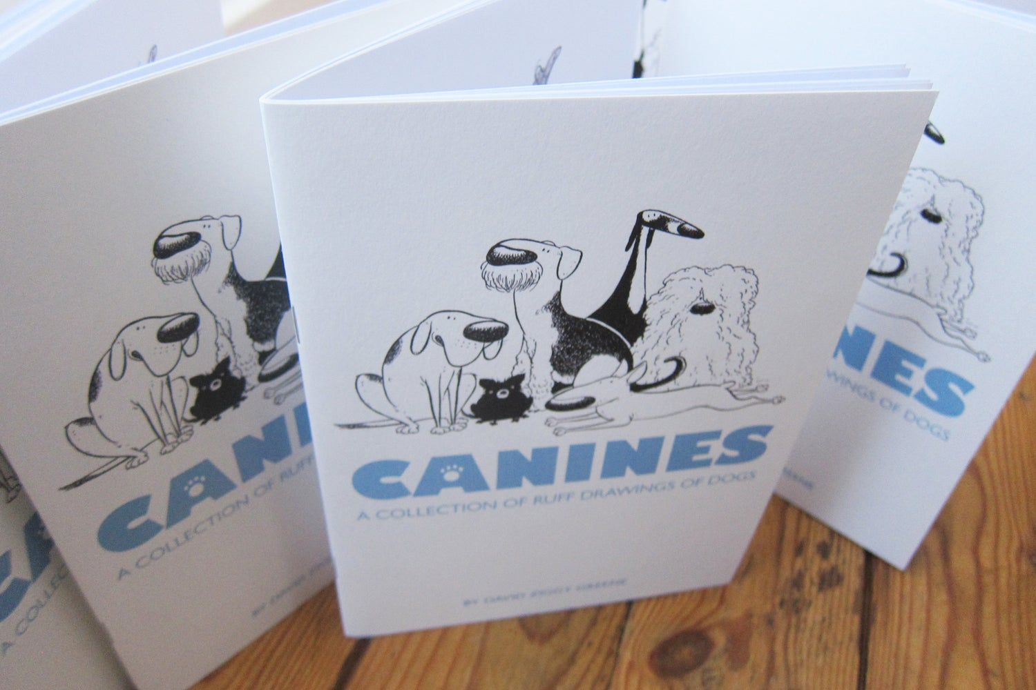Canines - A collection of dog sketches (Charity item)
