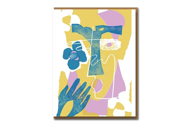 Image of Eileen Agar Face - Greetings Card