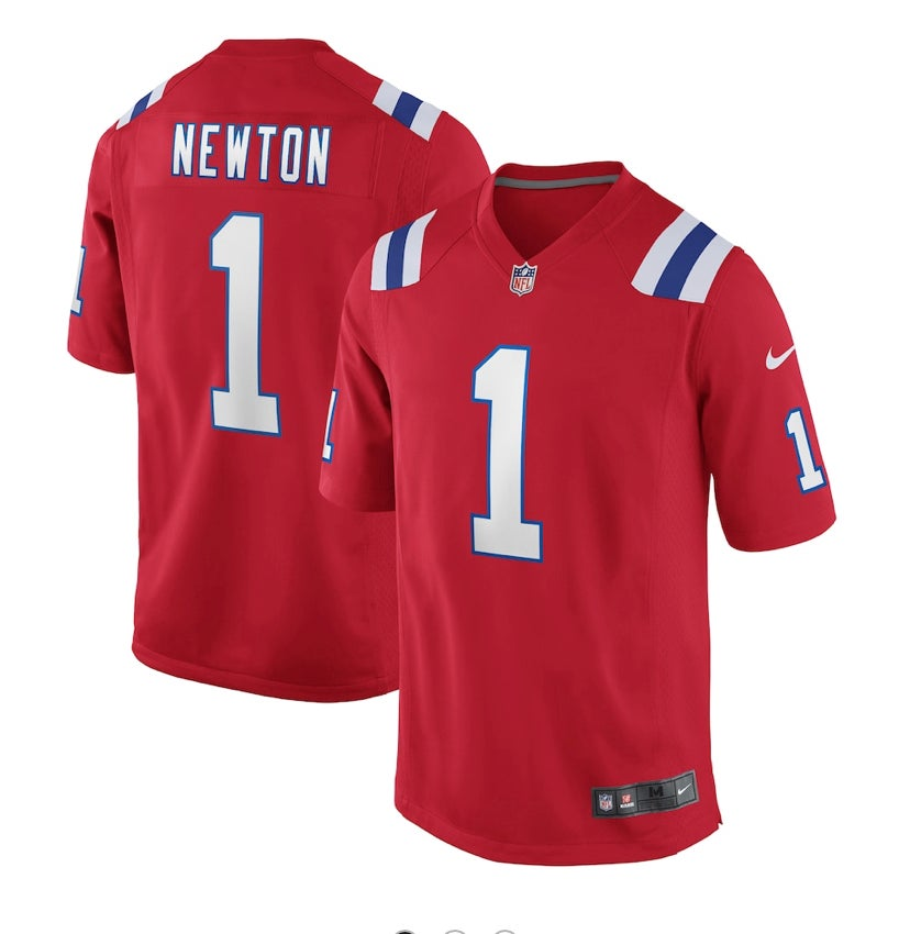 Image of Cam Newton patriots jerseys